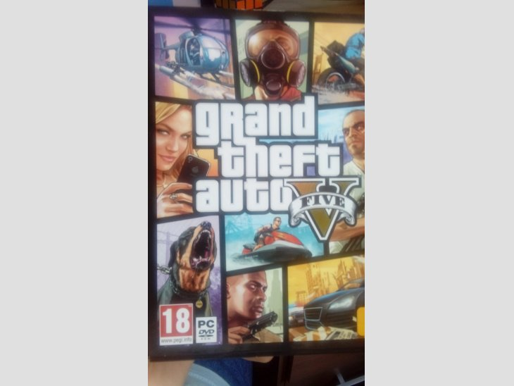 Juego Grand Theft Auto 5 para PC, en perfecto estado